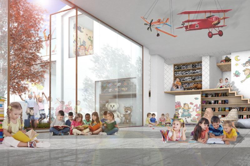 Una libreria per bambini